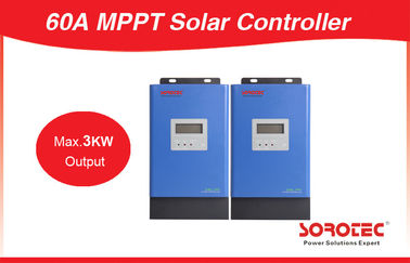 60A With Communication Port Max 3000W Output 48V MPPT Solar Charge Controller