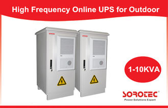 Outdoor Integrated UPS / Online UPS for Telecom / Network , 50/60HZ Frequency