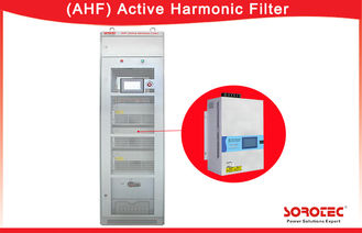 400V 50 / 60Hz APF Active Harmonic Filter 3P3L , 3P4L Power Grid Structure
