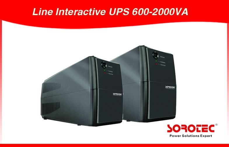 Modified Sine Wave Line Interactive UPS Uninterrupted Power Supply 600VA/360W /12V/7Ah dostawca