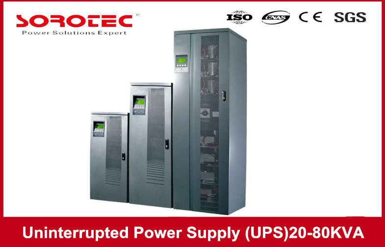 IP21 Protection Large LCD Uninterruptible Power Source UPS 20KVA 16KW for Telecom dostawca