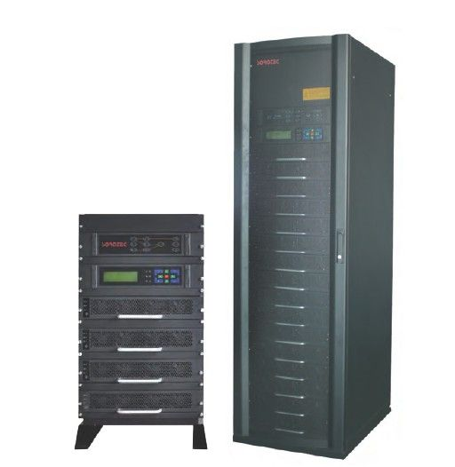 15KVA RS232 THDI 10 Modular UPS with 3 / 1 system , charge - discharge current value dostawca