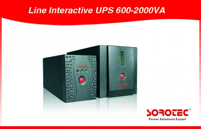 Modified Sine Wave Line Interactive UPS Uninterrupted Power Supply 600VA/360W /12V/7Ah