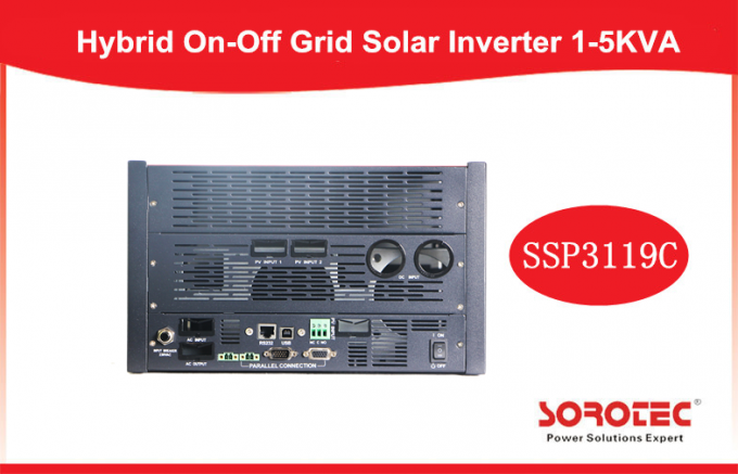 Hybrid On Off Grid Solar Power Inverters with 80A MPPT Controller with Parallel Founction